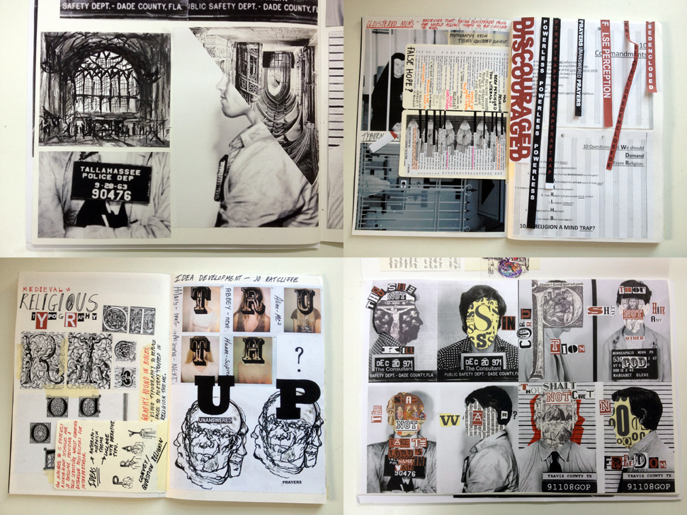 LAP Student Work A Fantastic Example Of Graphic Design Sketchbook