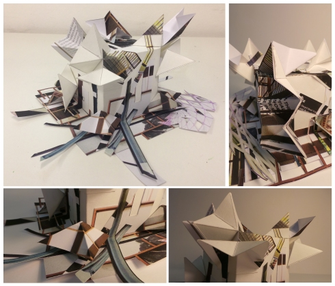 Model Making Collage