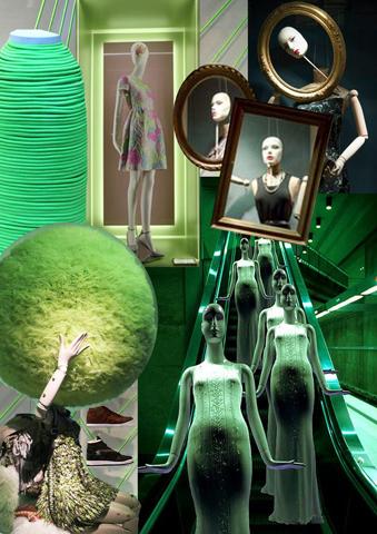 Green Palatte Moodboard